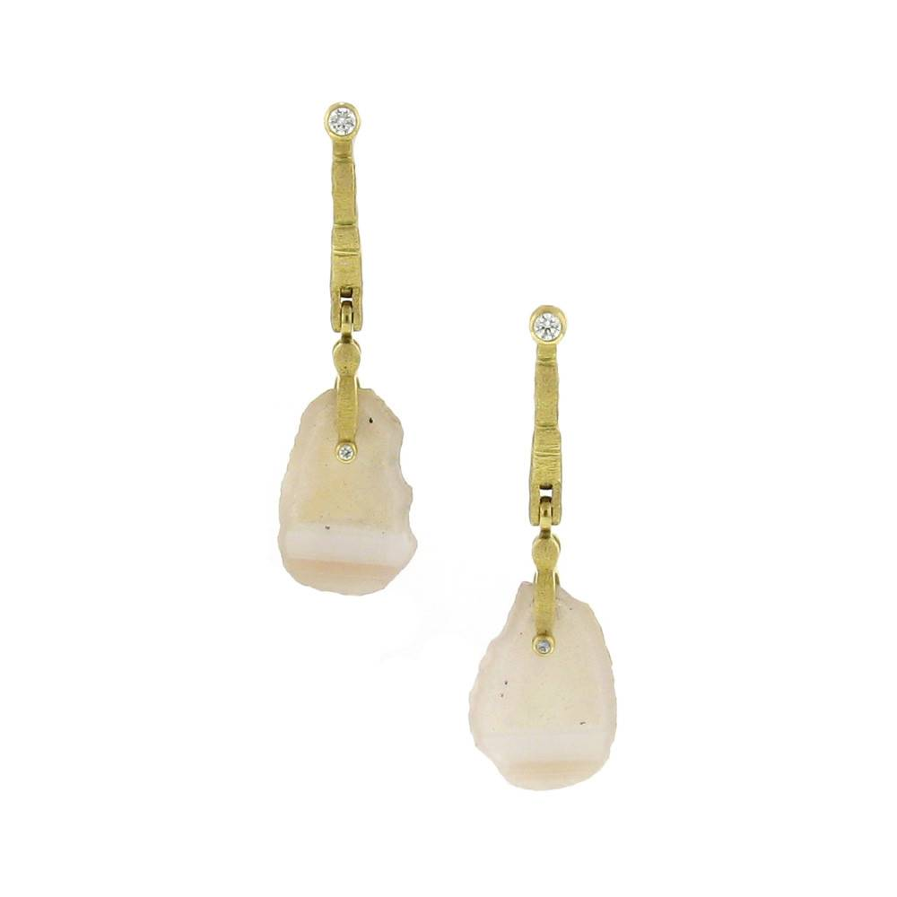 Alex Sepkus Sticks & Stones Geode Earrings