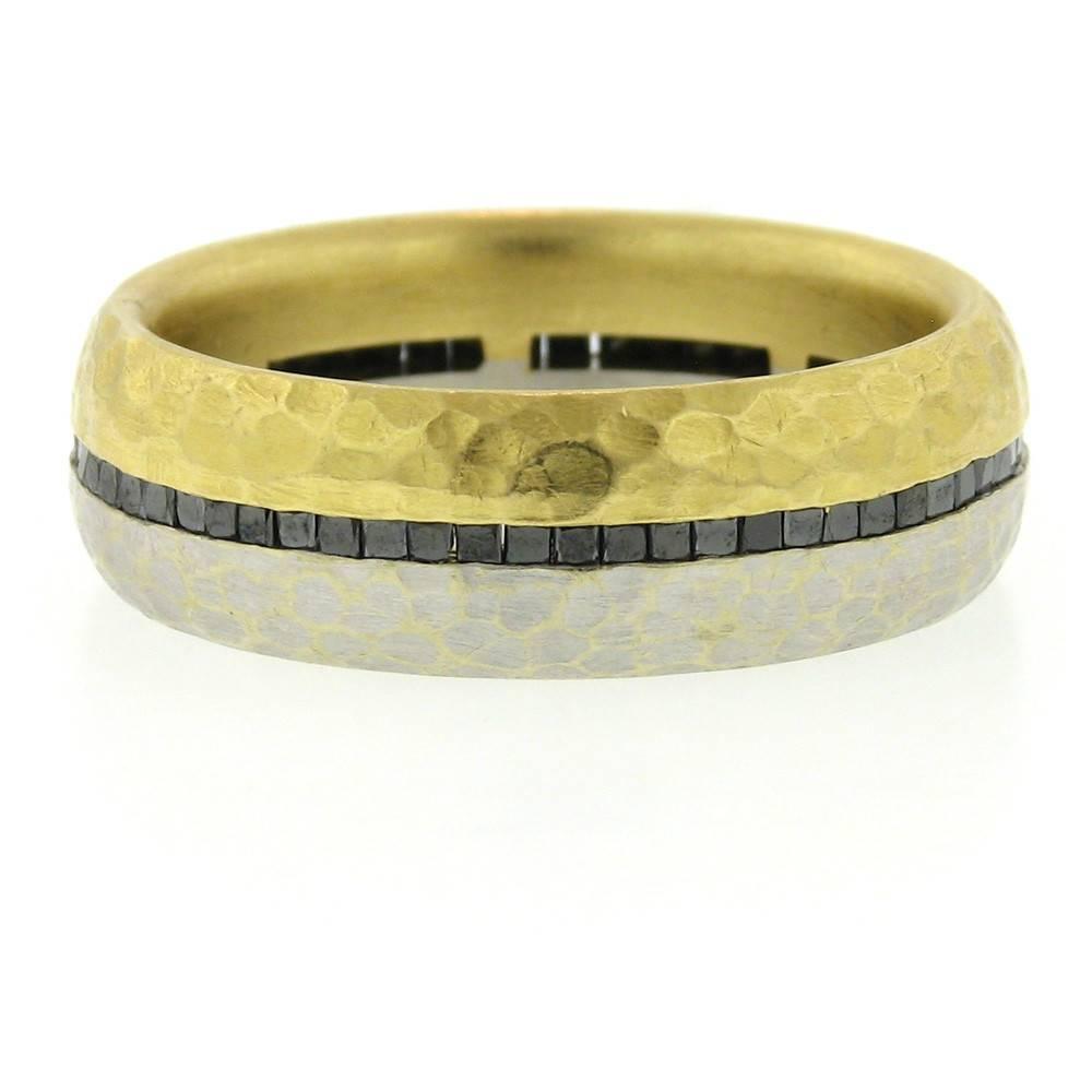 Pamela Froman Jays Duality Ring with black Diamonds