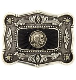 Artifactual Indian Head Trophy Belt Buckle