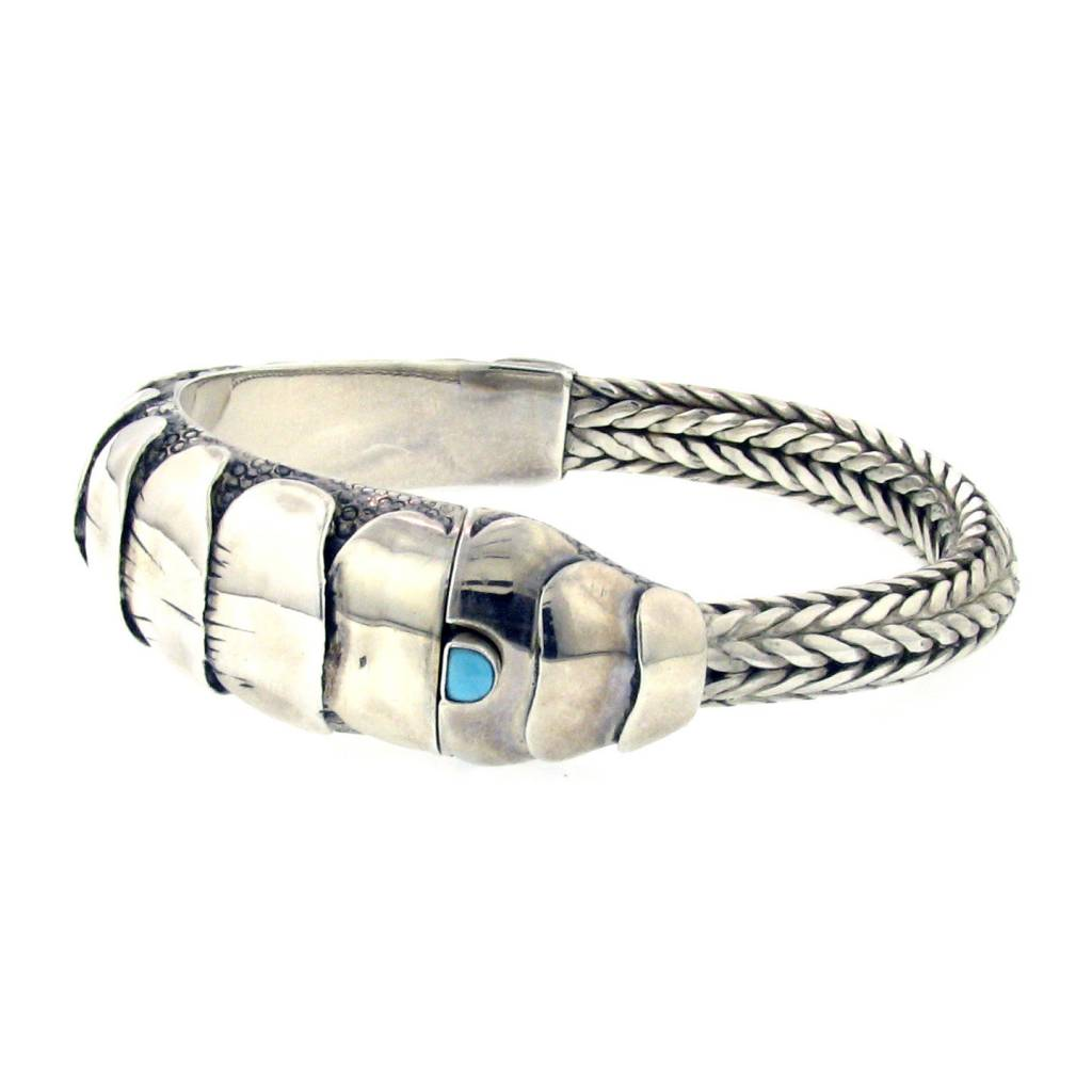 Artifactual Shrimp Turquoise Bracelet