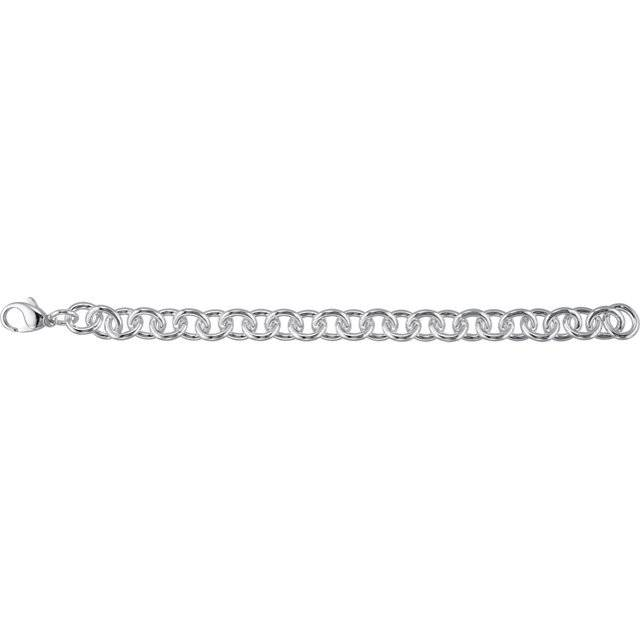Estate Heavy Link Chain Bracelet