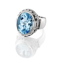 Kir Jawan Blue Topaz Ring