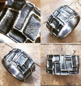 Alex Boyd Embossed Carved Ring