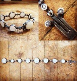 Alex Boyd Marble & Diamond Bracelet