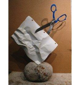 Kevin Box Stone, Paper, Scissors Maquette