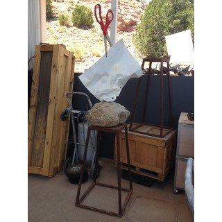 Kevin Box Stone, Paper, Scissors Garden Stand