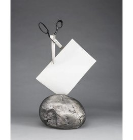 Kevin Box Rock Paper Scissors - envelope Black
