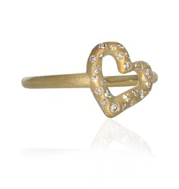 Lisa Des Camps Heart Ring