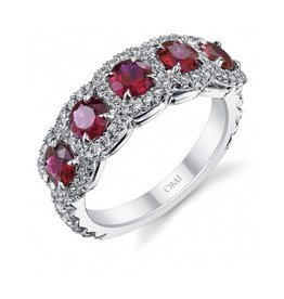 Omi Prive Dore Ruby Ring