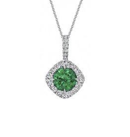 Omi Prive Dore Emerald Necklace