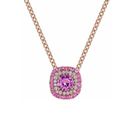 Omi Prive Duet Pink Sapphire Necklace