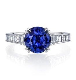 Omi Prive Dore Blue Sapphire Ring