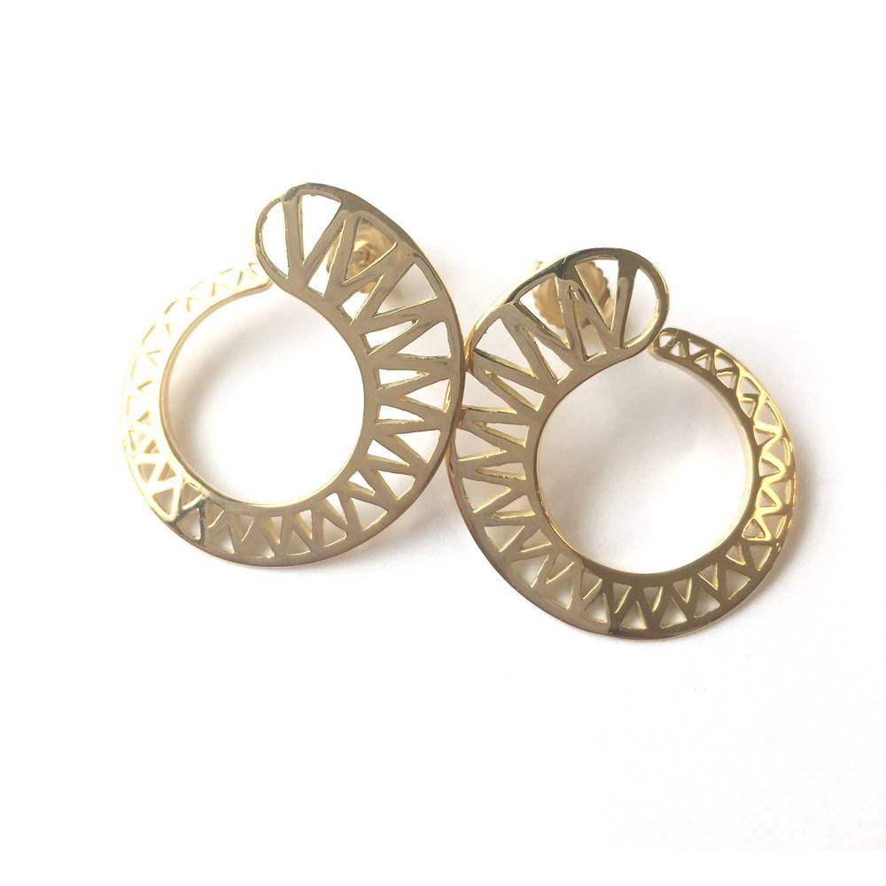 Ray Griffiths Spiral Crownwork Earrings