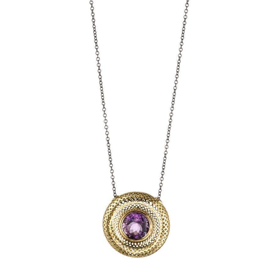 Ray Griffiths Crownwork Amethyst Necklace