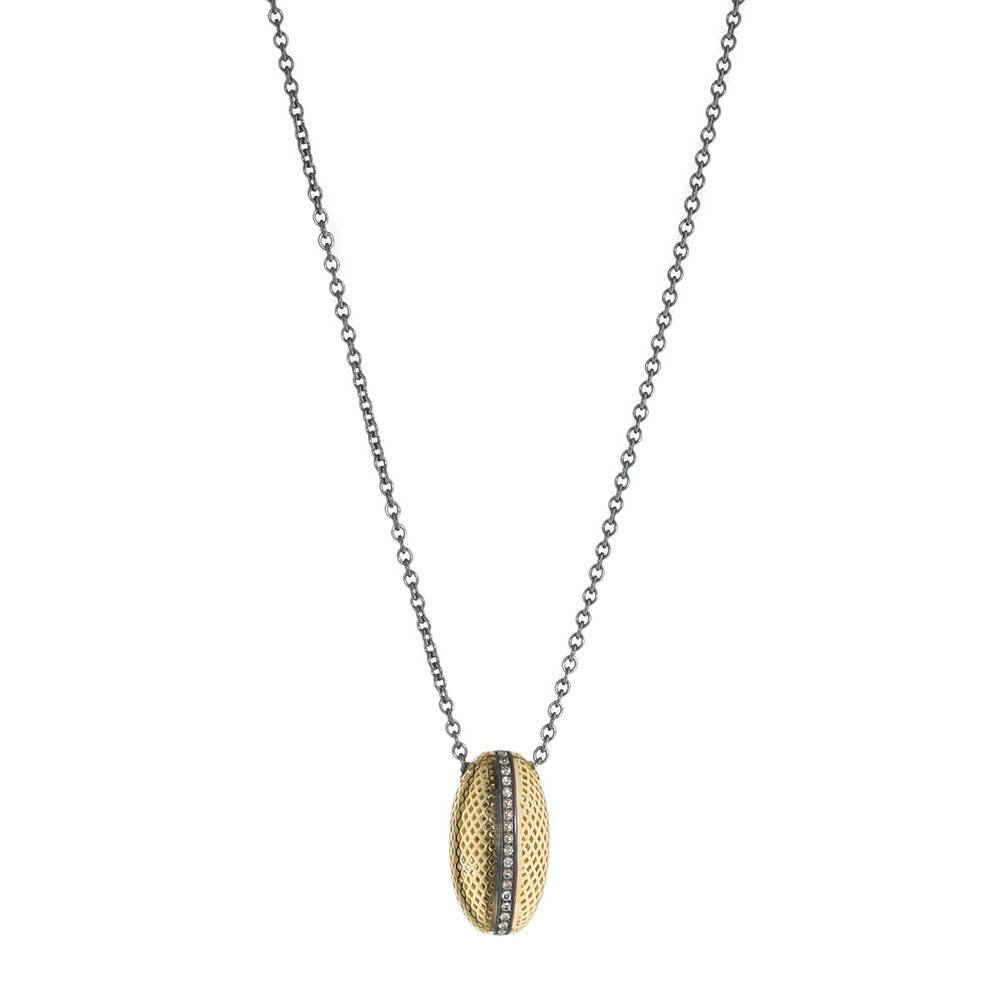 Ray Griffiths Crownwork Diamond Egg Necklace