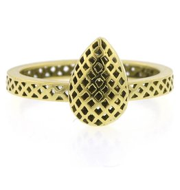Ray Griffiths Pear Shape Crownwork Ring