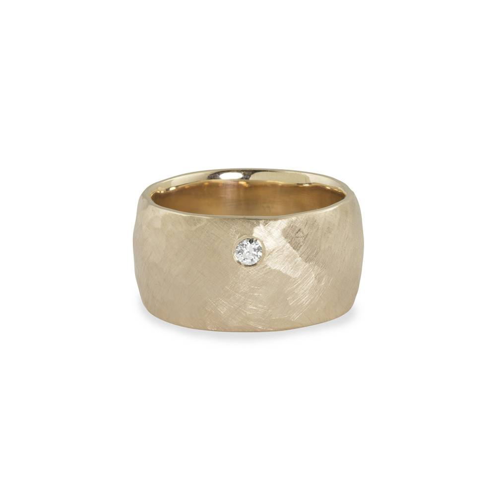 Julez Bryant Rama Wide Ring Yellow Gold