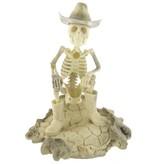 Artifactual Carved Cowboy Elk Antler