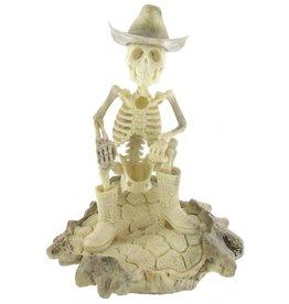 Artifactual Carved Elk Antler Cowboy