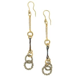 Federica Rettore Nodi d'Amore Diamond Earrings