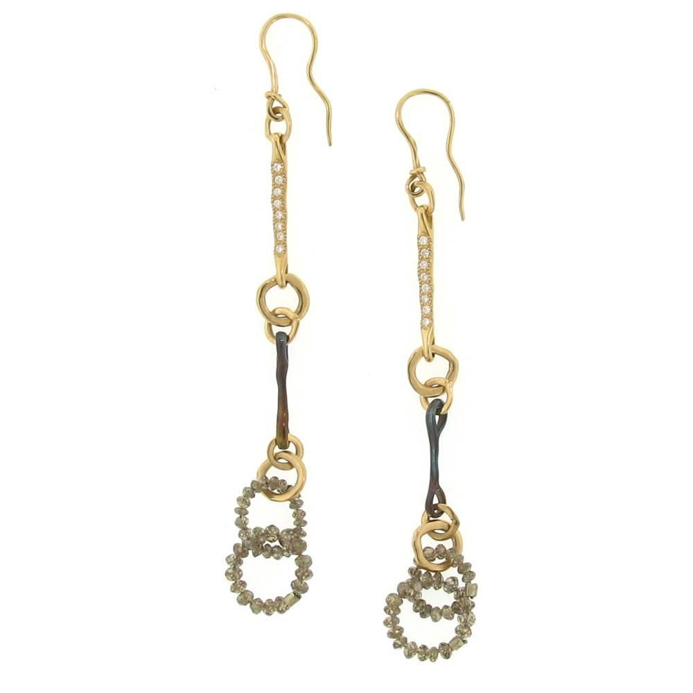 Federica Rettore Nodi d'Amore Diamond Earrings
