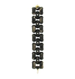 Federica Rettore Alba Panthere Three Row Bracelet