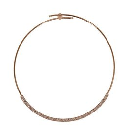 Mattia Cielo Rugiada Collar Pave Necklace