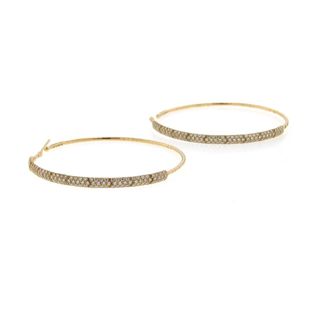 Mattia Cielo Rugiada Pave Earrings