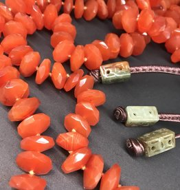 Simon Alcantara Bold Carnelian Necklace