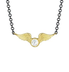 Anthony Lent Flying Diamond Victory Necklace