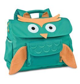 Bixbee Bixbee Animal Back Pack Green Owl