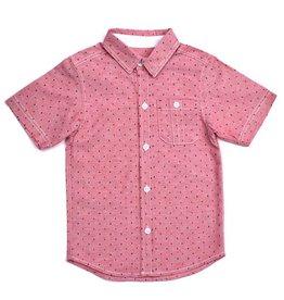 Kapital K printed red chambray shirt