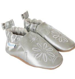 Robeez Soft Sole Metallic Mist Shoe