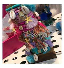 Little Miss Zoe Little Miss Zoe Vinyl Disc Bracelets