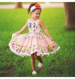 Haute Baby Haute Baby Calypso Halter Dress