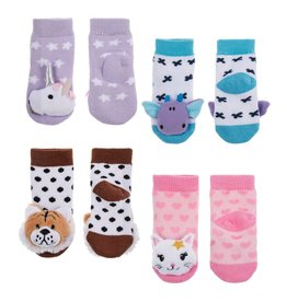 Midwest Baby Rattle Socks 0-12mos