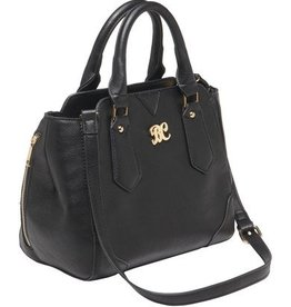 Bulldog BDC Satchel Series Concealed Carry Purse Black with Black Trim