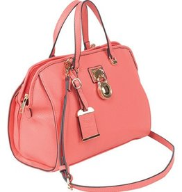 Bulldog BDC Satchel Series Concealed Carry Purse Coral