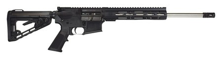 Diamondback DBF DB15 AR Rifle .223 Remington/5.56mm NATO 16 Inch Stainless Steel Barrel Rogers Super-Stoc 9.5 Inch M-Loc Rail Black Finish 30 Round