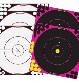 Birchwood Casey BWC Shoot-N-C Combo Pack 12 Inch 5 Targets Plus Pasters