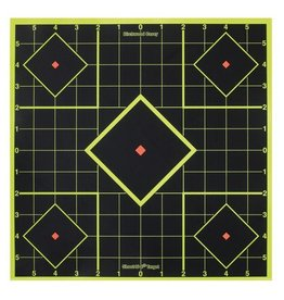 Birchwood Casey BWC Shoot-N-C Sight-In Targets 8 Inch 6 Targets 36 Pasters