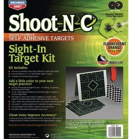 BWC Shoot-N-C Sight-In 12 Inch Target Kit