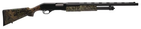 Savage STV Stevens 320 Field Turkey 12 Gauge 3 Inch Chamber 22 Inch Barrel Matte Blue Finish Green Fiber Optic Front Sight Synthetic Stock Mossy Oak Obsession Camouflage Finish 5 Round