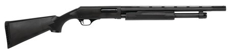 NEF NEF Pardner Pump Compact 20 Gauge 21 Inch Vent Rib Barrel Blue Finish 3 Inch Chamber Black Synthetic Stock 5 Round