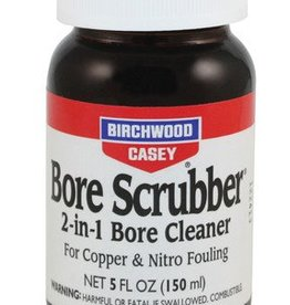 Birchwood Casey BWC Bore Scrubber 2-in-1 Bore Cleaner 5 Ounce Clam Packed - No CA Sales