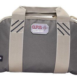G outdoors GPS Double Pistol Case Rifle Green/Khaki