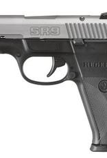 Ruger RUG SR9 9mm Luger 4.14 Inch Barrel Matte Stainless Steel Slide Black Frame Adjustable Sights 17 Round