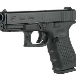Glock GLK Gen4 Glock 23 .40 Smith & Wesson 4 Inch Barrel Tenifer Finish Fixed Sights 13 Round