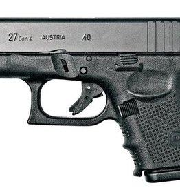 Glock GLK Gen4 Glock 27 .40 Smith & Wesson 3.47 Inch Barrel Black Finish Fixed Sights 9 Round
