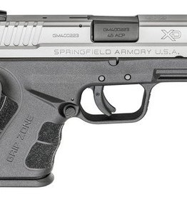 Springfield SAI XDG Mod.2 Sub-Compact .45 ACP 3.3 Inch Barrel Bi-Tone One 9 Round Compact Magazine and One 13 Round with X-Tension